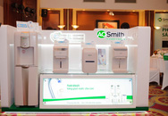Thương hiệu máy lọc nước hàng đầu Mỹ A. O. Smith gia nhập thị trường Việt
