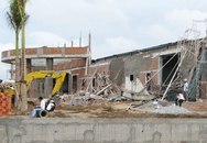 Sập sàn nhà hàng đang xây ở Cần Thơ, 3 người gặp nạn