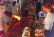 100 sinh viên y khoa tham gia cấp cứu vụ sập giàn giáo thảm khốc