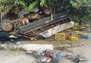 Xe tải mất lái lao vào 3 trẻ nhỏ, 1 em tử vong, 2 em nguy kịch