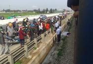 Một phụ nữ bế trẻ nhỏ thiệt mạng khi băng qua đường ray