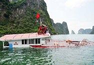 Tàu chở 48 du khách bị đâm chìm trên vịnh Hạ Long