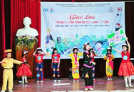 Ngày hội lớn về giao thông an toàn cho học sinh tiểu học