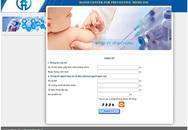 Nghẽn mạng vì đăng ký tiêm vaccine Pentaxim trực tuyến