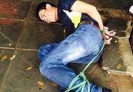 Trộm xe Lead bị người dân bẻ quặt, trói chặt tay chân
