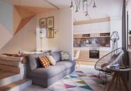 Cách trang trí căn hộ 40m2 hài hòa giữa tiện nghi và phong cách