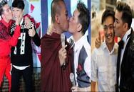 Hơn chục nụ hôn gây xôn xao dư luận của Đàm Vĩnh Hưng