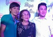 Mẹ Hoài Linh, Dương Triệu Vũ đi cỗ vũ cho hai con trai biểu diễn