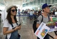 Vợ chồng Lâm Tâm Như và khách mời bơ phờ rời Bali