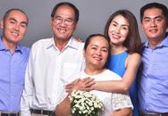 Tăng Thanh Hà khoe ảnh kỉ niệm 40 năm ngày cưới của bố mẹ