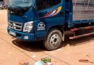 Bé gái 3 tuổi bị xe tải cán chết khi đang chơi