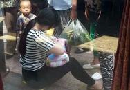 Người mẹ trẻ gây tranh cãi khi cho bé sơ sinh bị bỏ rơi bú nhờ