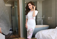 """""""Choáng váng"""" trước vóc dáng của Elly Trần sau hơn 1 tháng sinh con"""