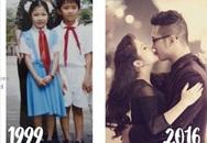 """Chuyện tình """"định mệnh"""" của cặp đôi yêu nhau từ lớp 2"""