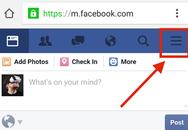 Nhận thông báo từ Facebook không cần cài ứng dụng