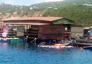 Gãy bè tại vịnh Vĩnh Hy, 300 khách trên bè hoảng hốt