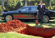 Đại gia chôn xe Bentley cùng khi chết