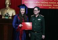 Hồ Quỳnh Hương trở thành giảng viên trường quân đội