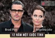 Nhìn lại cuộc tình 12 năm đáng mơ ước của cặp đôi vàng Brad - Angelina
