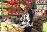 Nữ chính 'Kong: Skull Island' đi mua bánh ngọt ở Quảng Ninh