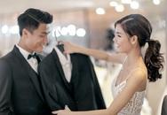 Mạc Hồng Quân đưa Kỳ Hân đi thử váy cưới