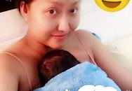 Phi Thanh Vân hé lộ hình ảnh đầu tiên của con trai đầu lòng