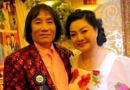 Vợ nghệ sĩ Minh Vương ân cần chăm sóc chồng tại đêm tiệc