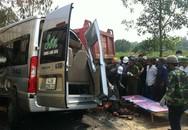 Xe khách va chạm xe ben, 4 người chết, 6 người bị thương