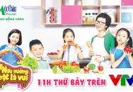 Ra mắt chương trình truyền hình cảm hứng nấu ăn cho trẻ em