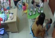 Cô giáo tát bôm bốp vào mặt trẻ vì làm rơi thức ăn