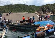 Vụ gãy bè ở vịnh Vĩnh Hy: Nhà hàng nổi bị chìm sau va chạm với tàu du lịch