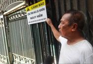 Hà Nội: Hộ dân cạnh nhà nghiêng phố Quan Thổ đứng ngồi không yên vì mưa