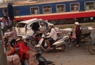 Tai nạn đường sắt ở Hà Nội, 7 người chết và bị thương