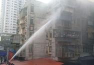 Hà Nội: Cháy dữ dội khu 5 tầng tập thể dược