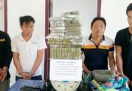 Tóm gọn 4 đối tượng vận chuyển 69 bánh heroin xuyên quốc gia