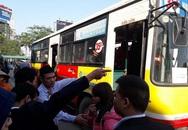 """Xe khách đình công, Hà Nội điều hàng chục xe buýt """"giải cứu"""" bến xe Mỹ Đình"""