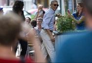 Vừa về nước, ông Obama liền hẹn hò ăn tối với vợ