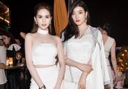 Ngọc Trinh đọ sắc với Hoa hậu Hàn Quốc, Trung Quốc
