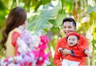 Gia đình Phan Hiển - Khánh Thi rộn ràng đi chụp ảnh áo dài Tết