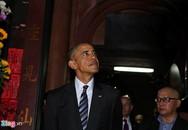 Tổng thống Obama tham quan chùa Ngọc Hoàng ở Sài Gòn