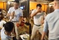 Dân mạng phẫn nộ với nam thanh niên cướp mic, hất cốc bia vào người hát rong