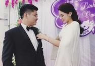 Kỳ Duyên rạng rỡ trong đám cưới của anh trai