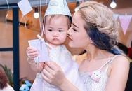 Maya mở tiệc mừng con gái tròn một tuổi