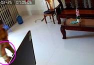 Lắp camera, bố phát hiện con bị giúp việc bạo hành