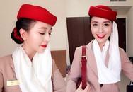 Nữ tiếp viên hàng không Việt Nam ở Dubai gây sốt vì quá xinh