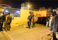 Hà Nội: Va vào xe cẩu, một người chết tại chỗ