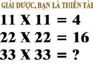 Tại sao 11x11 lại bằng 4?