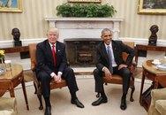 Chi tiết sốc khi Trump gặp Obama tại Nhà Trắng
