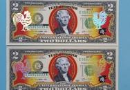 Tờ tiền lì xì 2 USD hình gà đắt gấp 10 lần giá trị thực