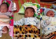 3 cháu bé sơ sinh bị bỏ rơi trước cổng chùa
